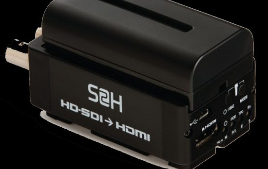 ATOMOS CONNECT S2H HD-SDI TO HDMI BATTERY POWERED CONVERTER RENTALj