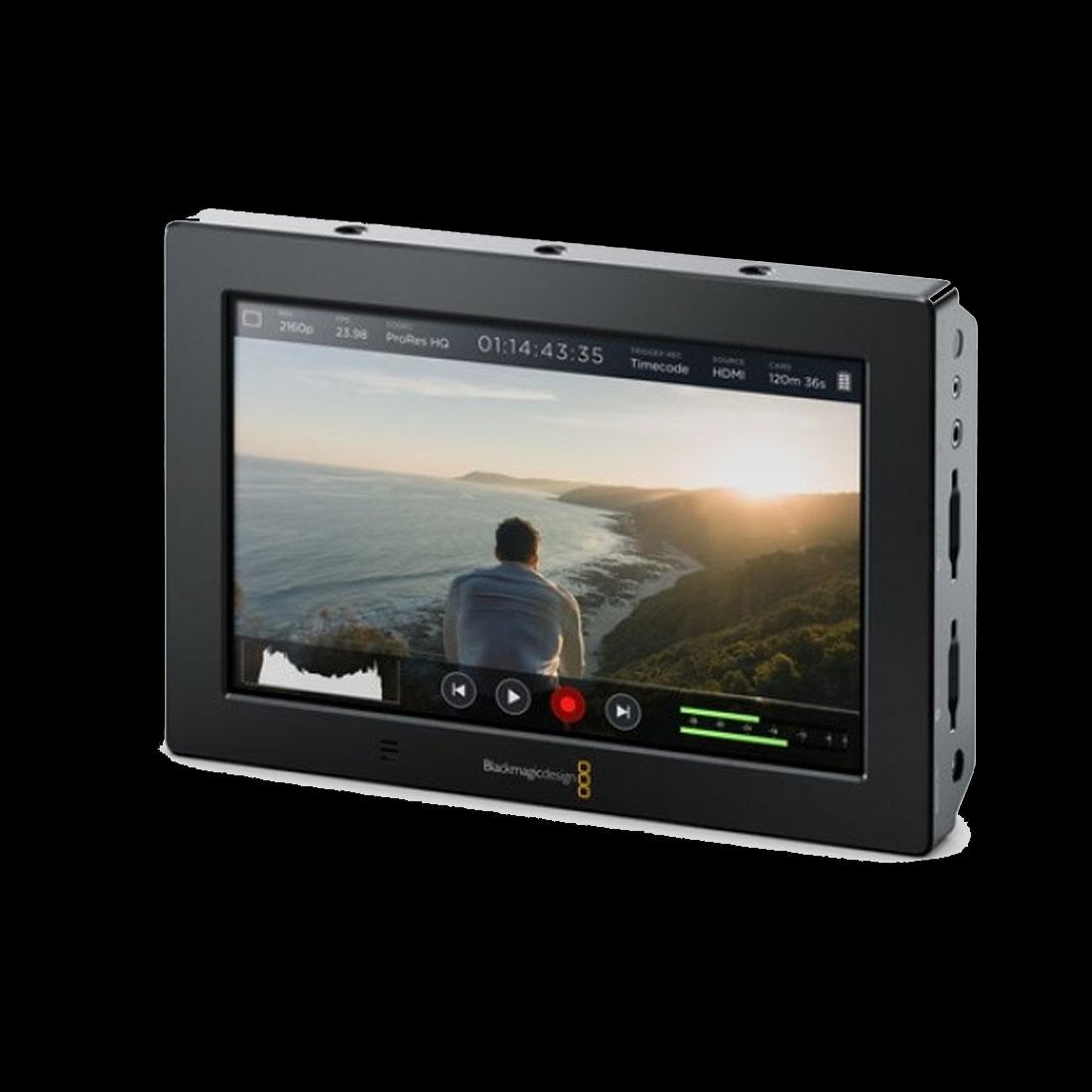 BLACKMAGIC DESIGN VIDEO ASSIST 4K 7 HDMI6G-SDI RECORDING MONITOR