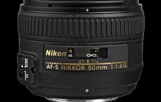 Nikon 50mm f1.4G AF-S Nikkor Autofocus Lens