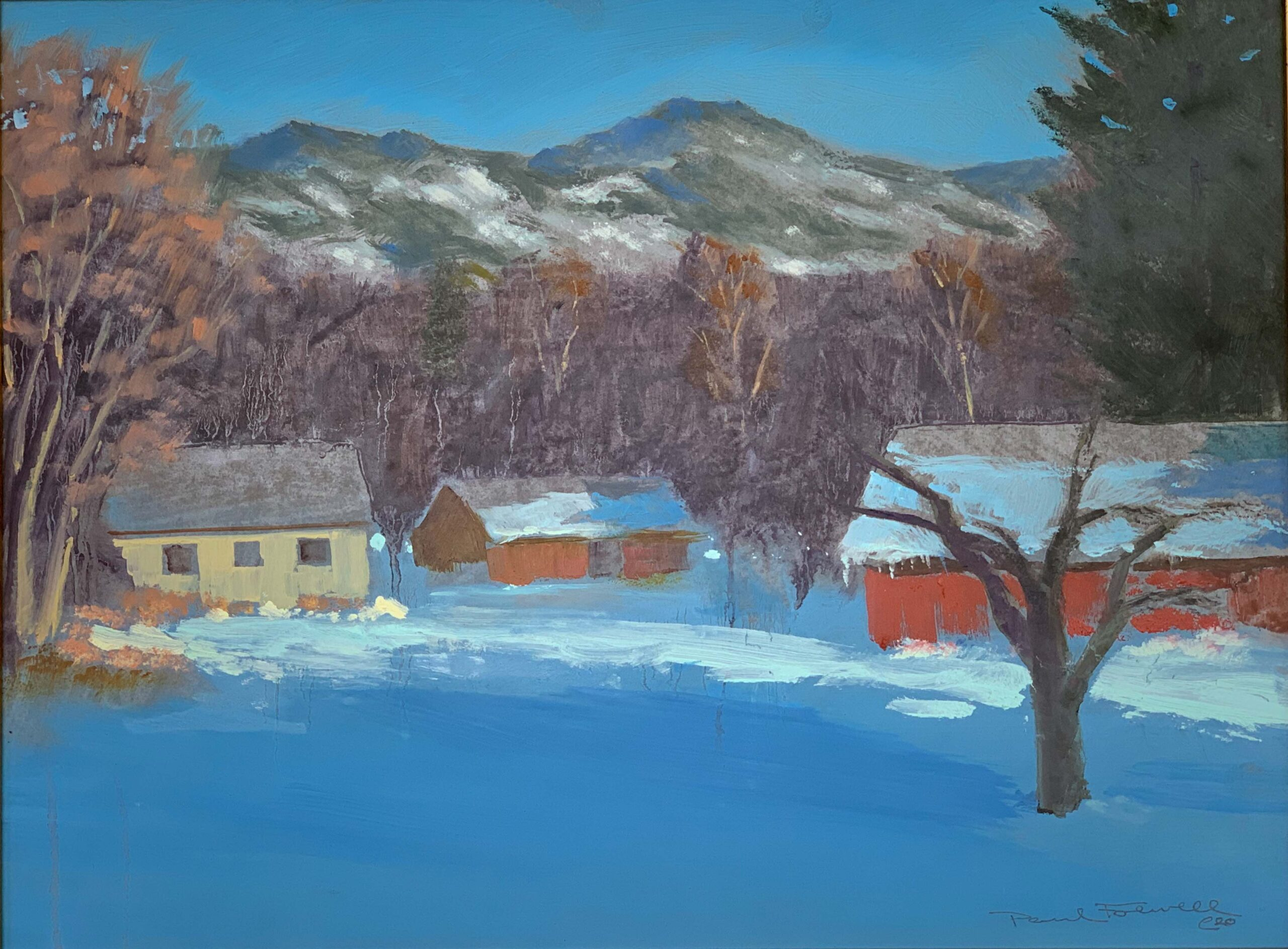 """Oil Painting By Paul Folwell, 12x16"""""""