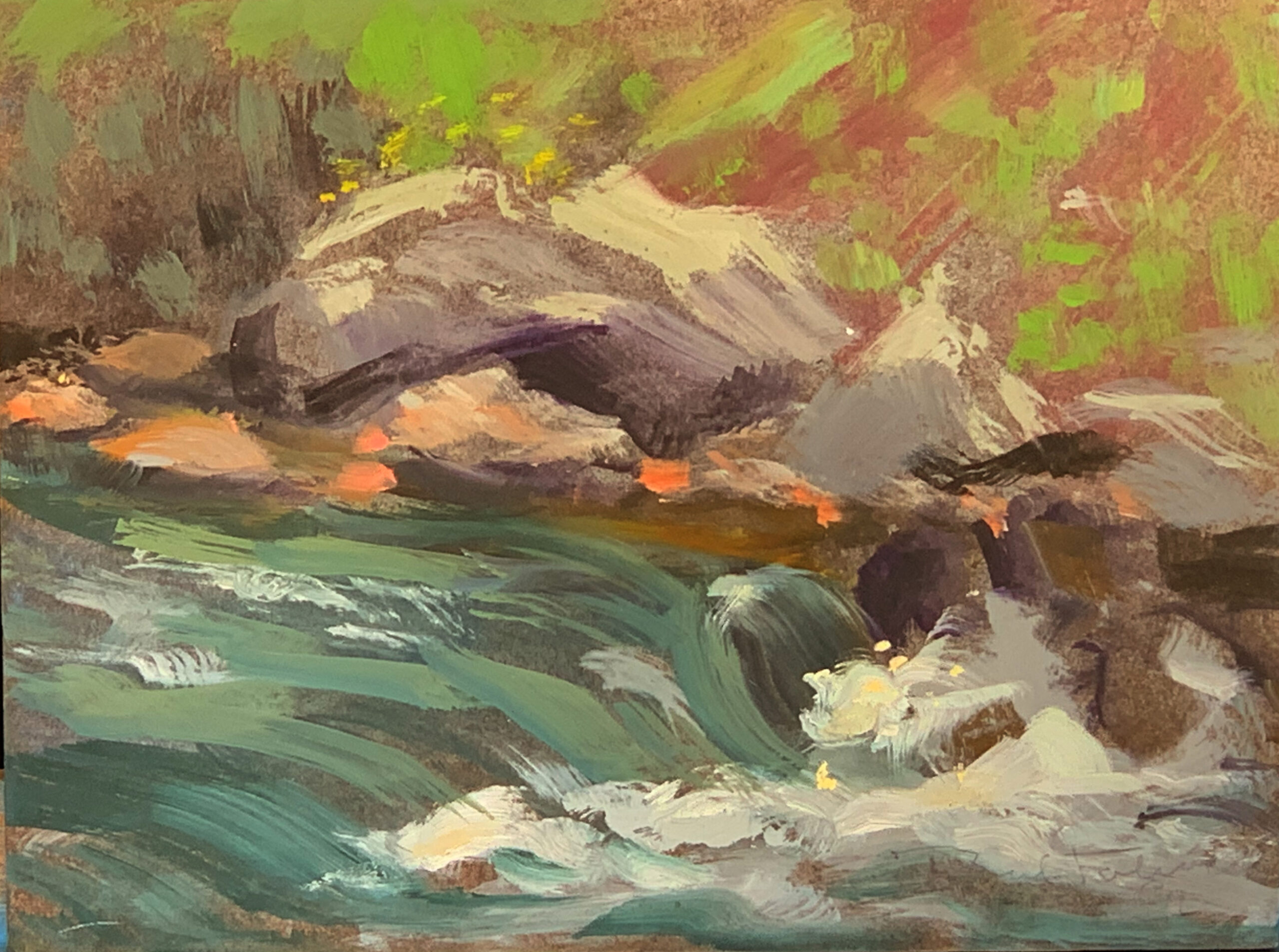 """Oil Painting By Paul Folwell, 6""""x8*'"""
