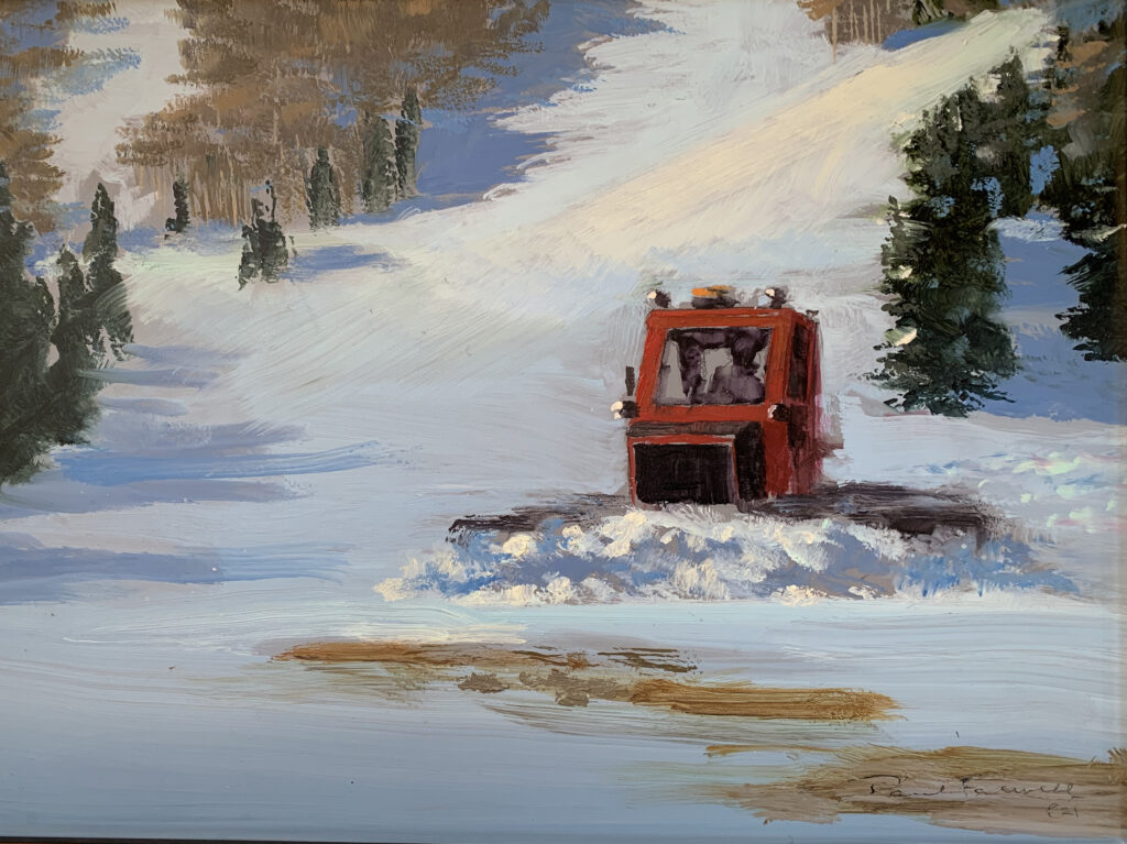 """Oil Painting By Paul Folwell, 9""""x12"""""""