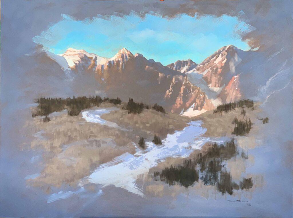 """Twilights""© 36""x24"", OIl Painting $2,270."