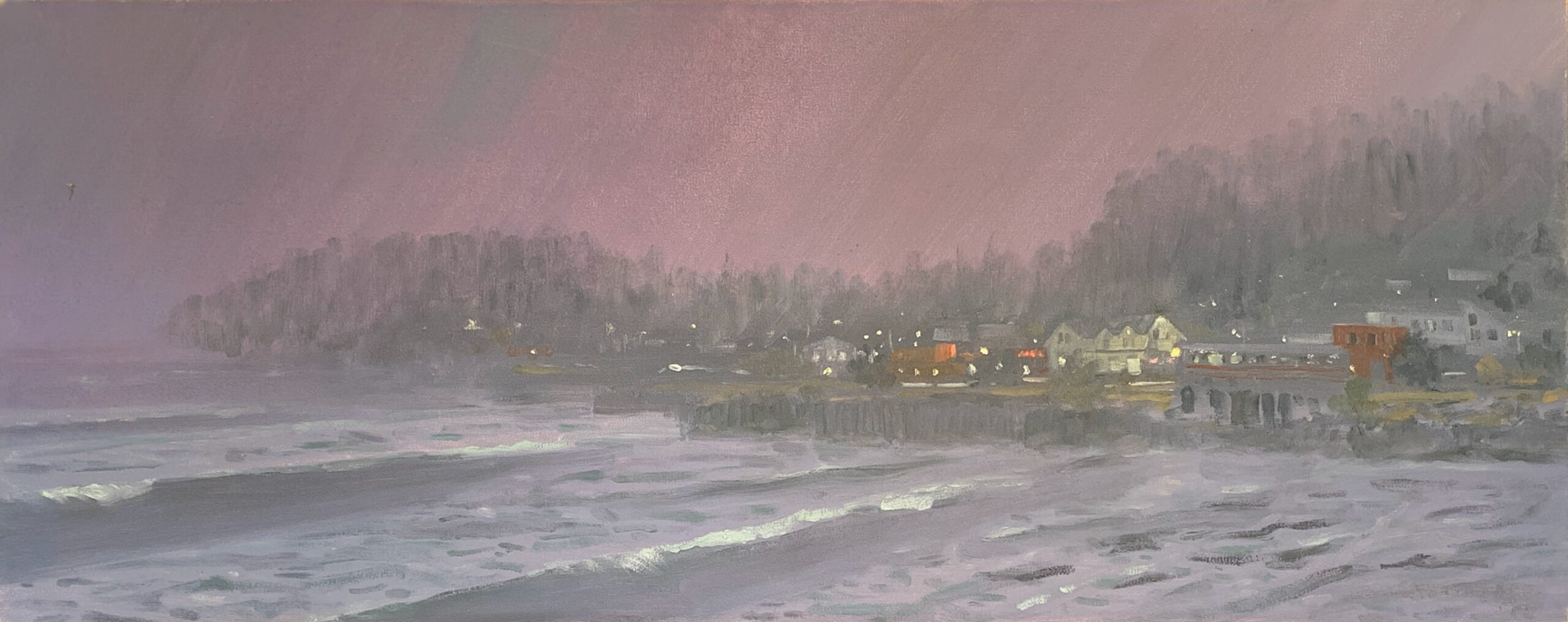 """Oil Paimting by Paul Folwell, 12""""x24"""""""