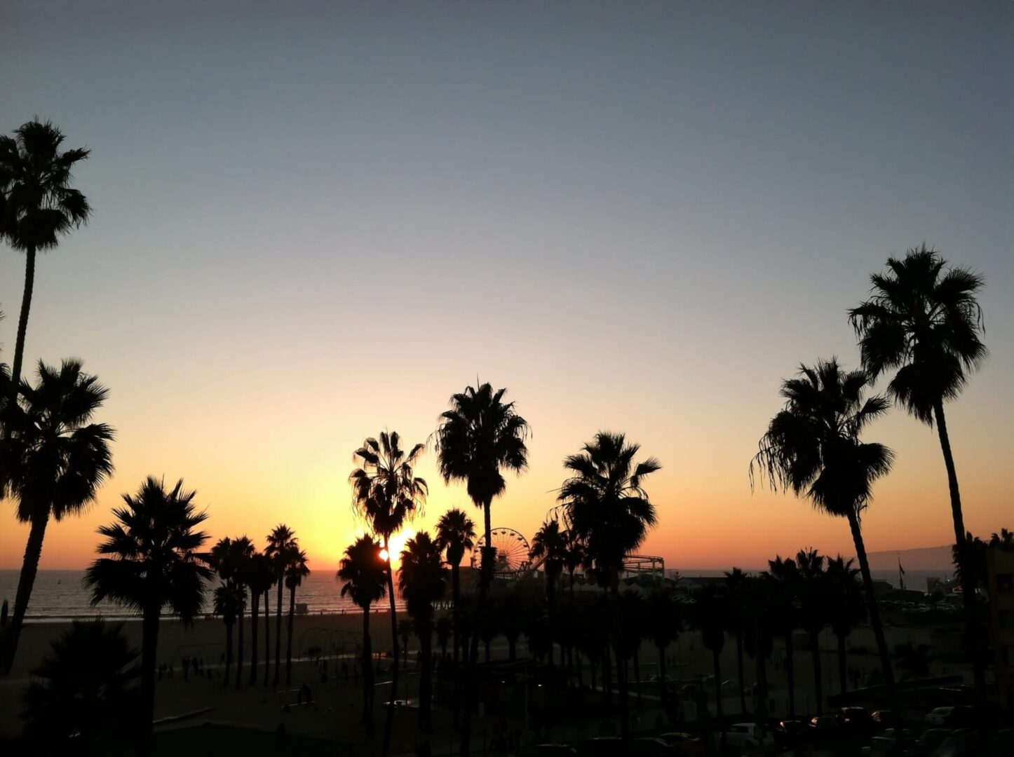 Santa Monica Sunset