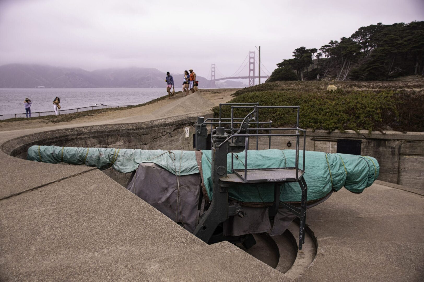 The Bunkers at Baker Beach