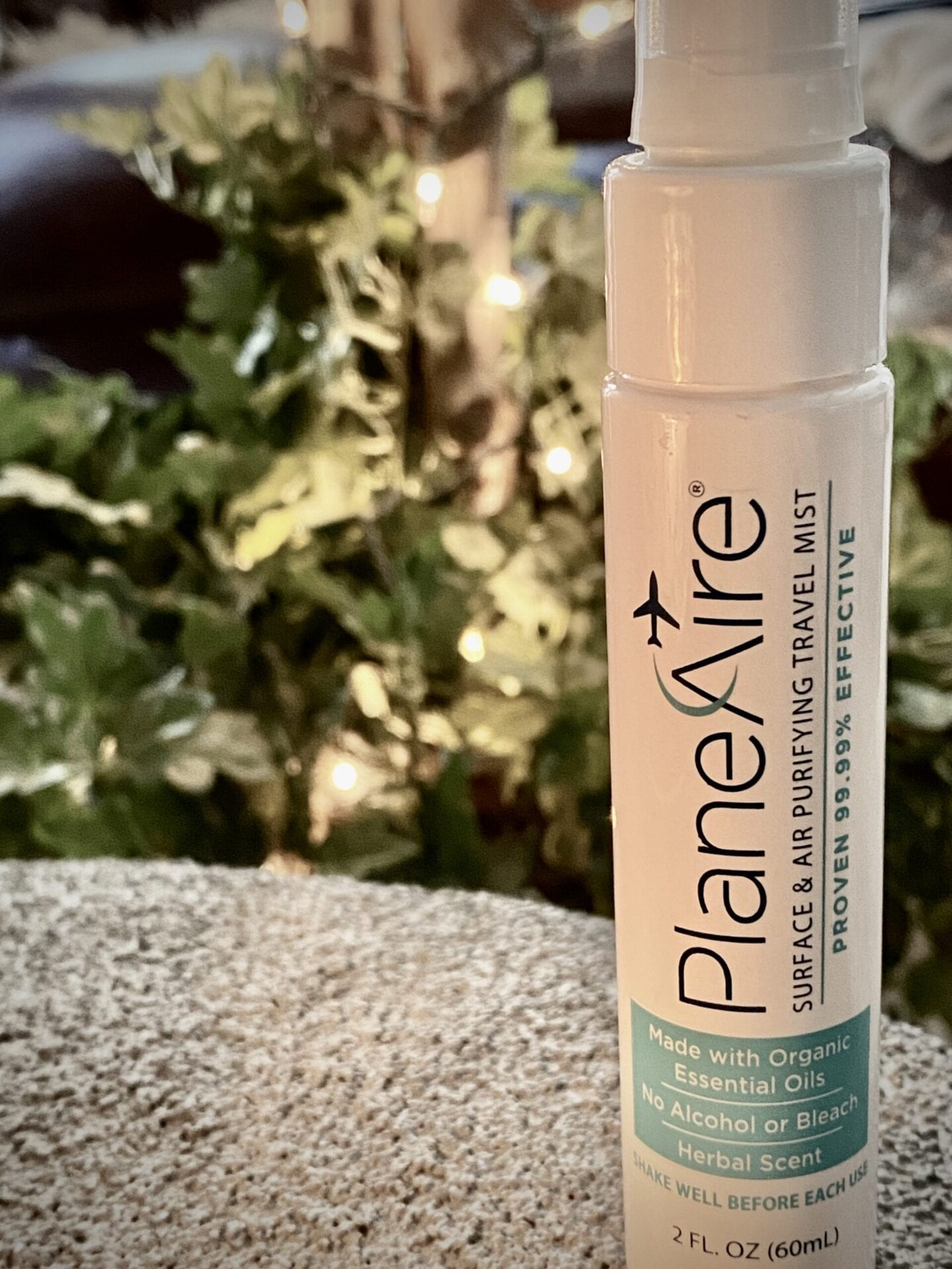 PlaneAire Surface & Air Purifying Travel Mist