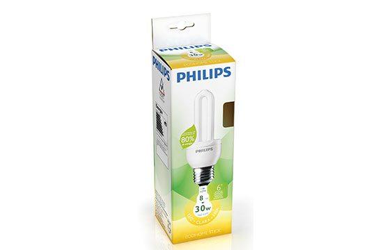 Foco Philips cálido