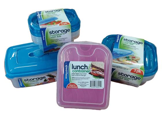 Variedad de envases plásticos