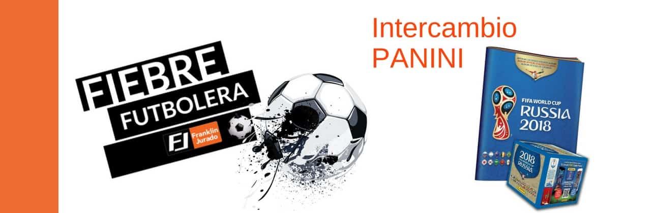 INTERCAMBIO DE FIGURITAS PANINI