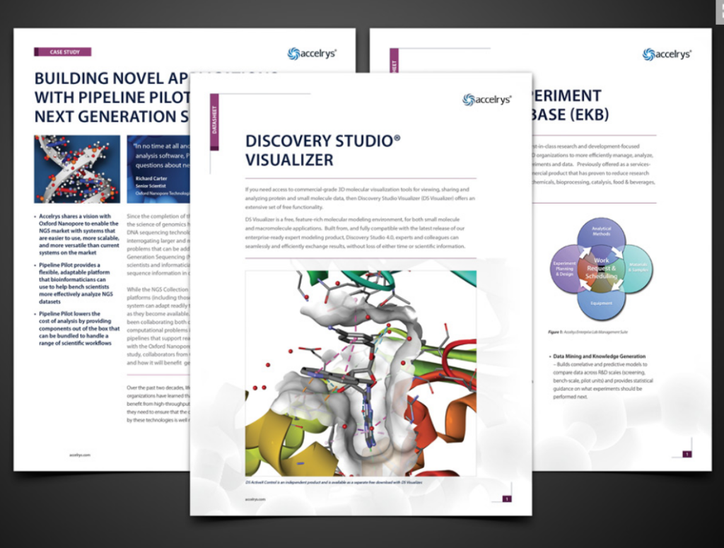 Life Science Marketing Collateral