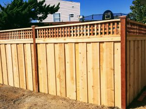 wood fence horizontal boards