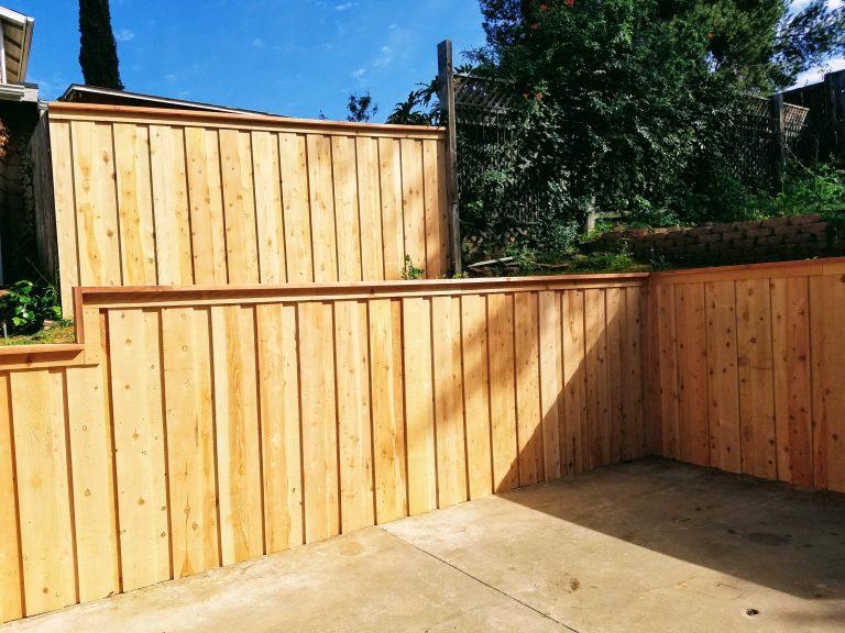 wood picket fence gate