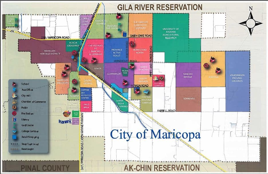 Courtesy of Maricopa Chamber of Commerce Flyer