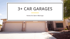 4 Car Garages Homes for Sale in Maricopa