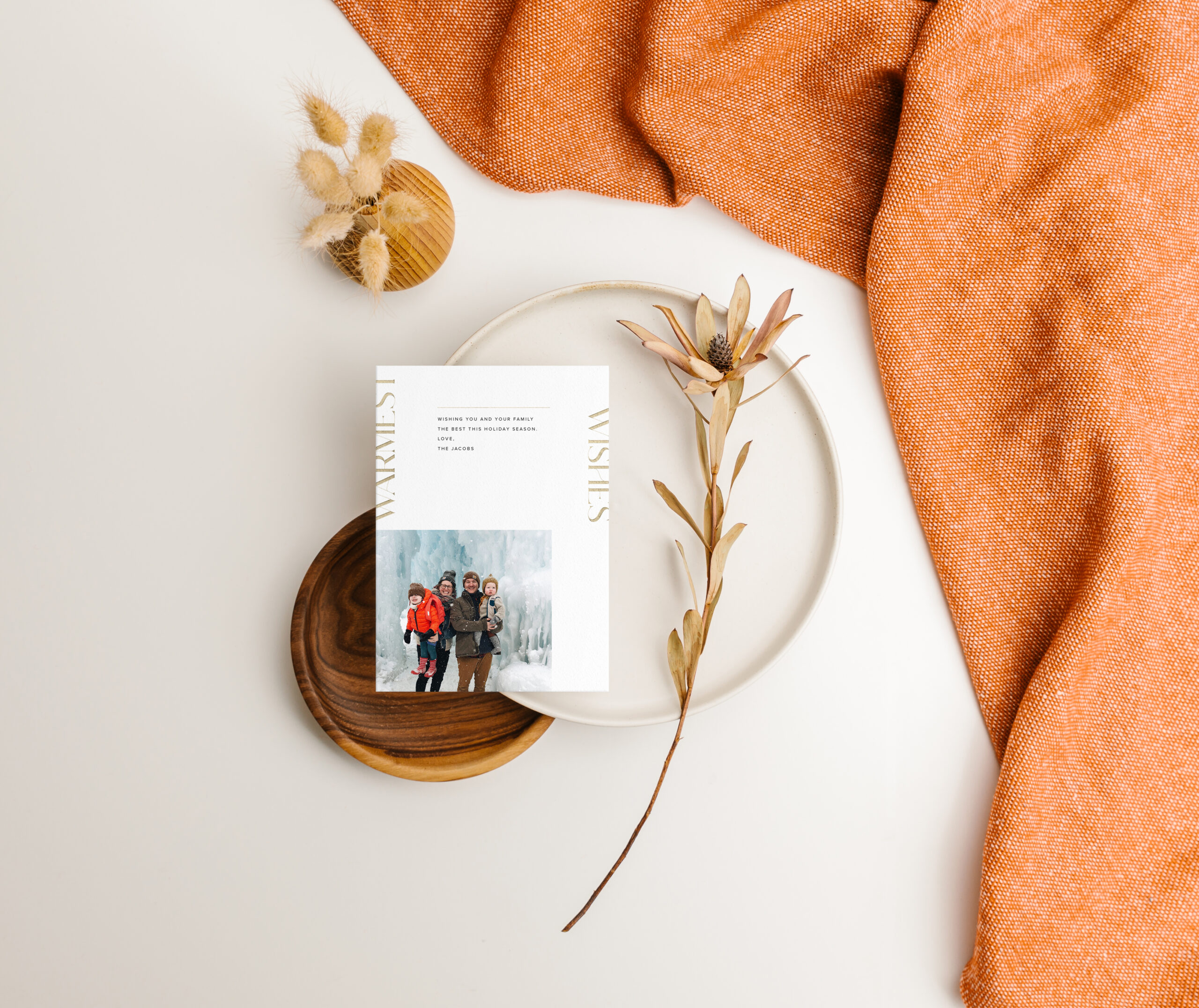 20191002-holiday-card-top-down-on-table-throw-blanket