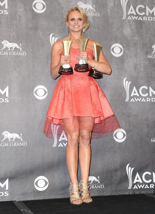 Miranda Lambert - 49th Annual ACM Press Room