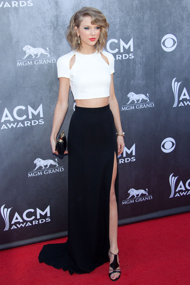 Taylor Swift at the the 49th ACM Awards in Las Vegas