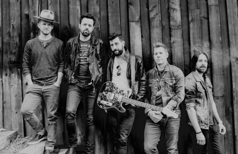 Old Dominion on tour with kenny chesney