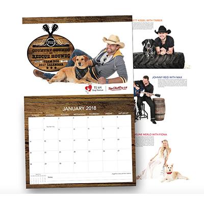 Top Country Stocking Stuffer - Calendar 2017