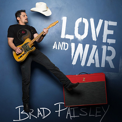 Brad Paisley Love and War - Heaven South - New Country Releases