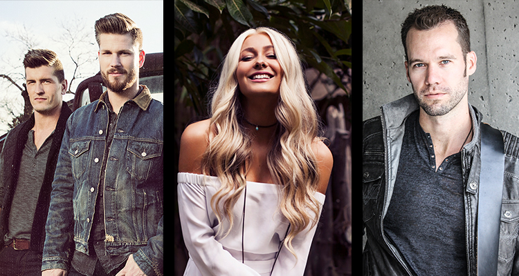 CCMA Award Show Performers - FanFest - Countdown Concert