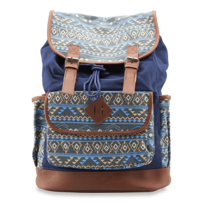 mySTYLE Printed Cotton Backpack