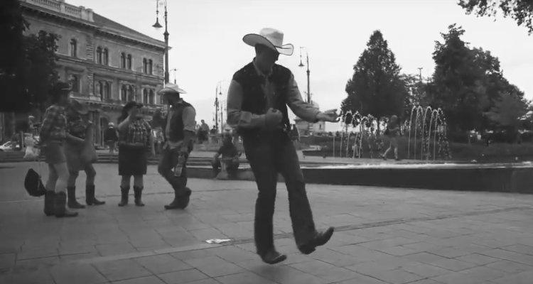 Air Guitar Cowboy