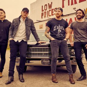 James Barker Band publicity photo