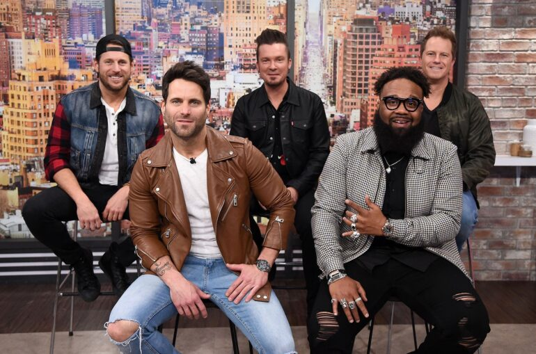 Parmalee and Blanco Brown publicity photo