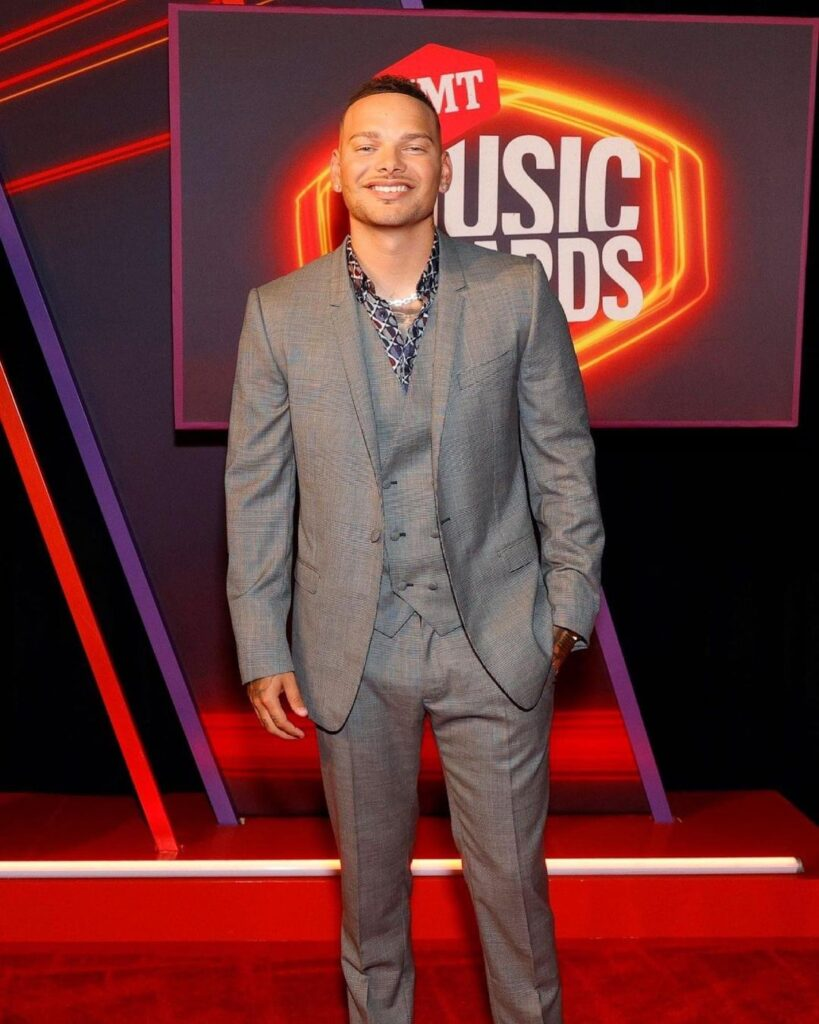 Kane Brown at the 2021 CMT Music Awards