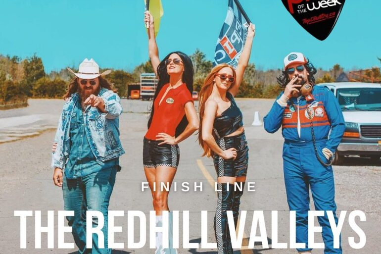 """Top Country Pick of the Week - The Redhill Valleys """"Finish Line"""""""