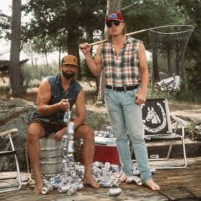 Dean Brody and Jade Eagleson publicity photo