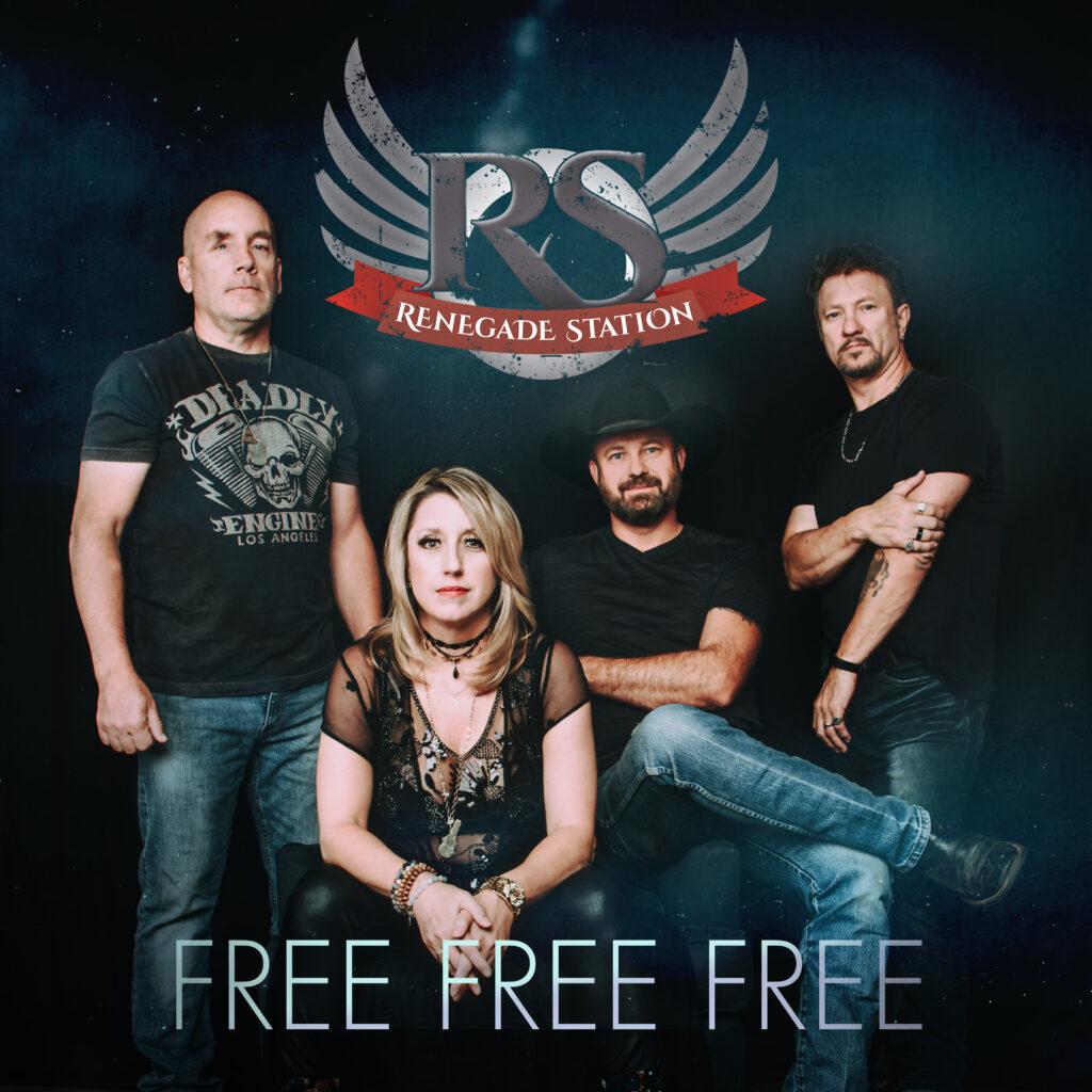 "Renegade Station single artwork for ""Free Free Free""."