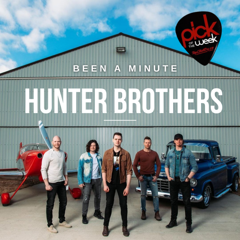 """Pick of the Week Hunter Brothers """"Been A Minute"""""""