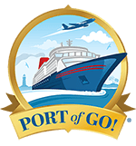 Port of Go! Cruise, Destination, and Travel Showcase Logo