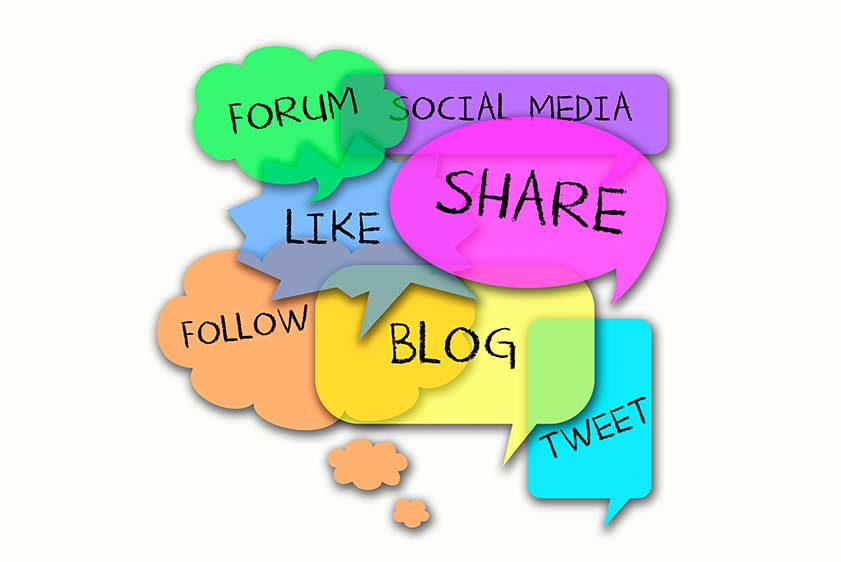 social media share comments
