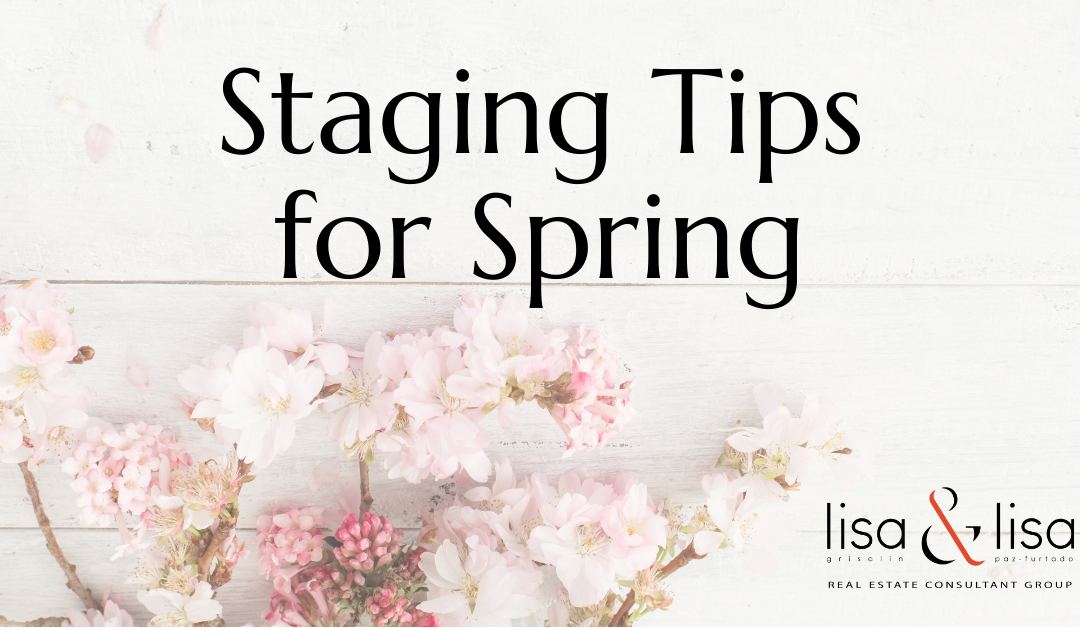 Staging Tips for Spring