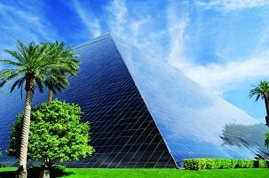 The Luxor Resort in Las Vegas
