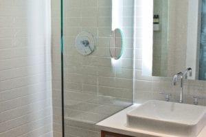 glass shower door replacement