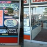 retailer window