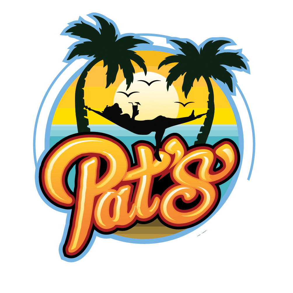 Pats Exotic Beverages Logo