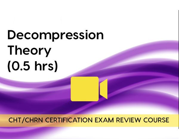 Decompression Theory (0.5 hours) course image