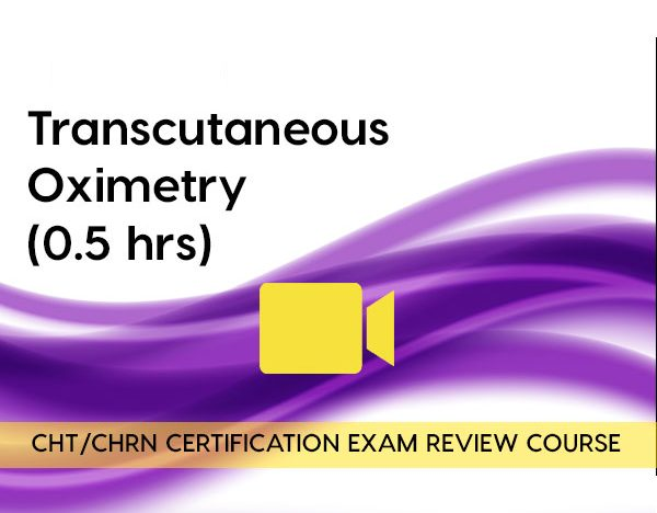 Transcutaneous Oximetry (0.5 hours) course image