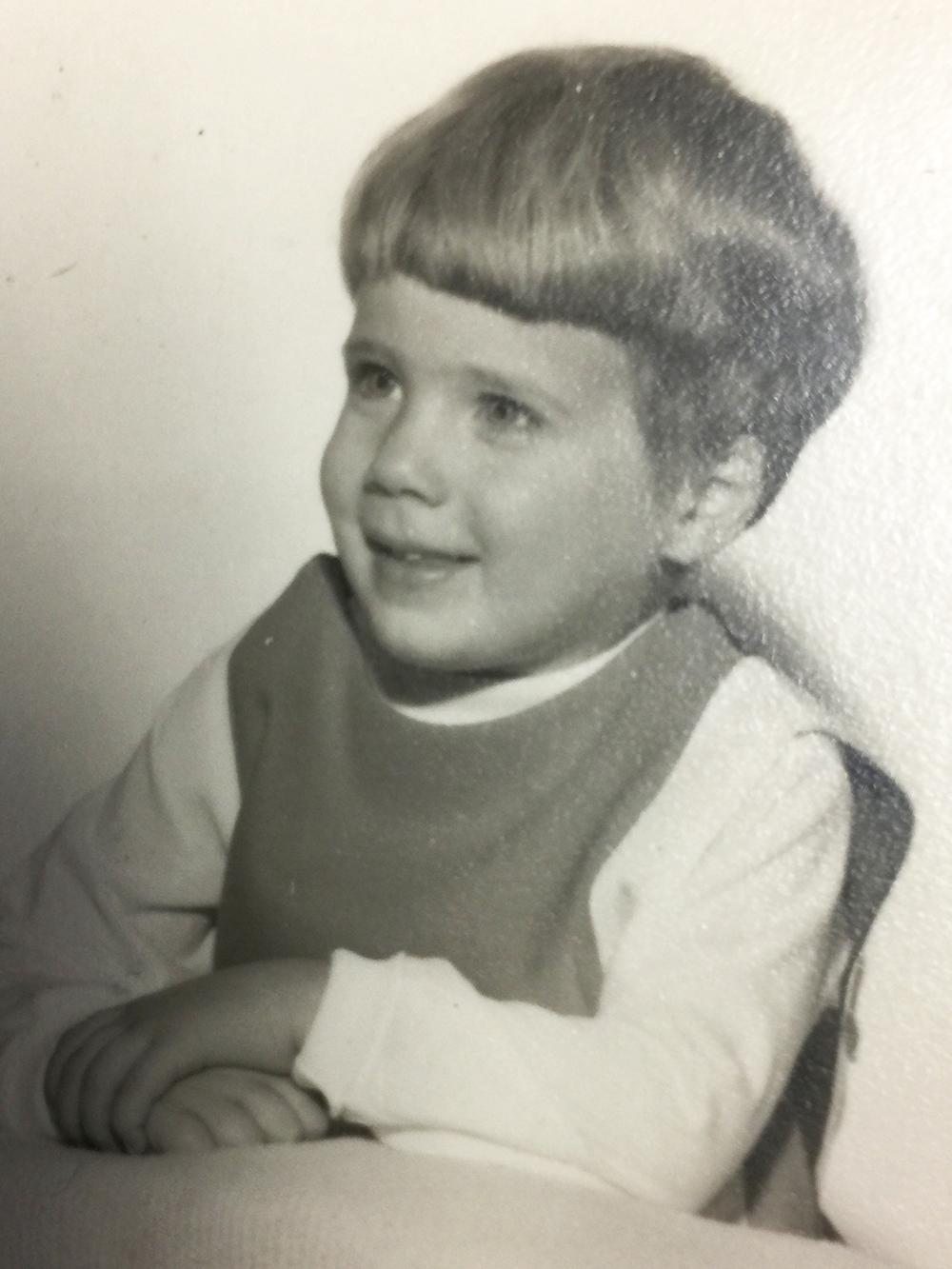 Betsy, age 3.