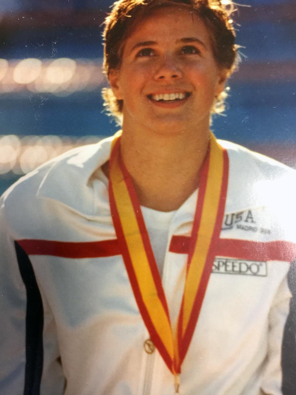 1986 World Championship win, in Madrid, Spain.
