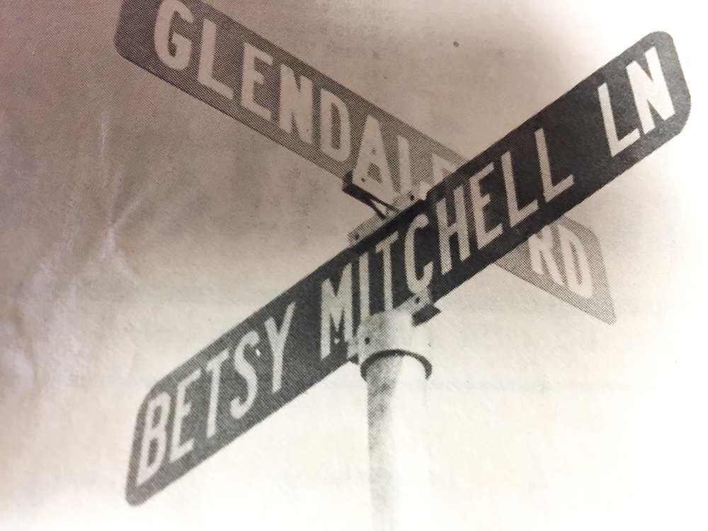 Betsy Mitchell Lane, in Marietta, Ohio.