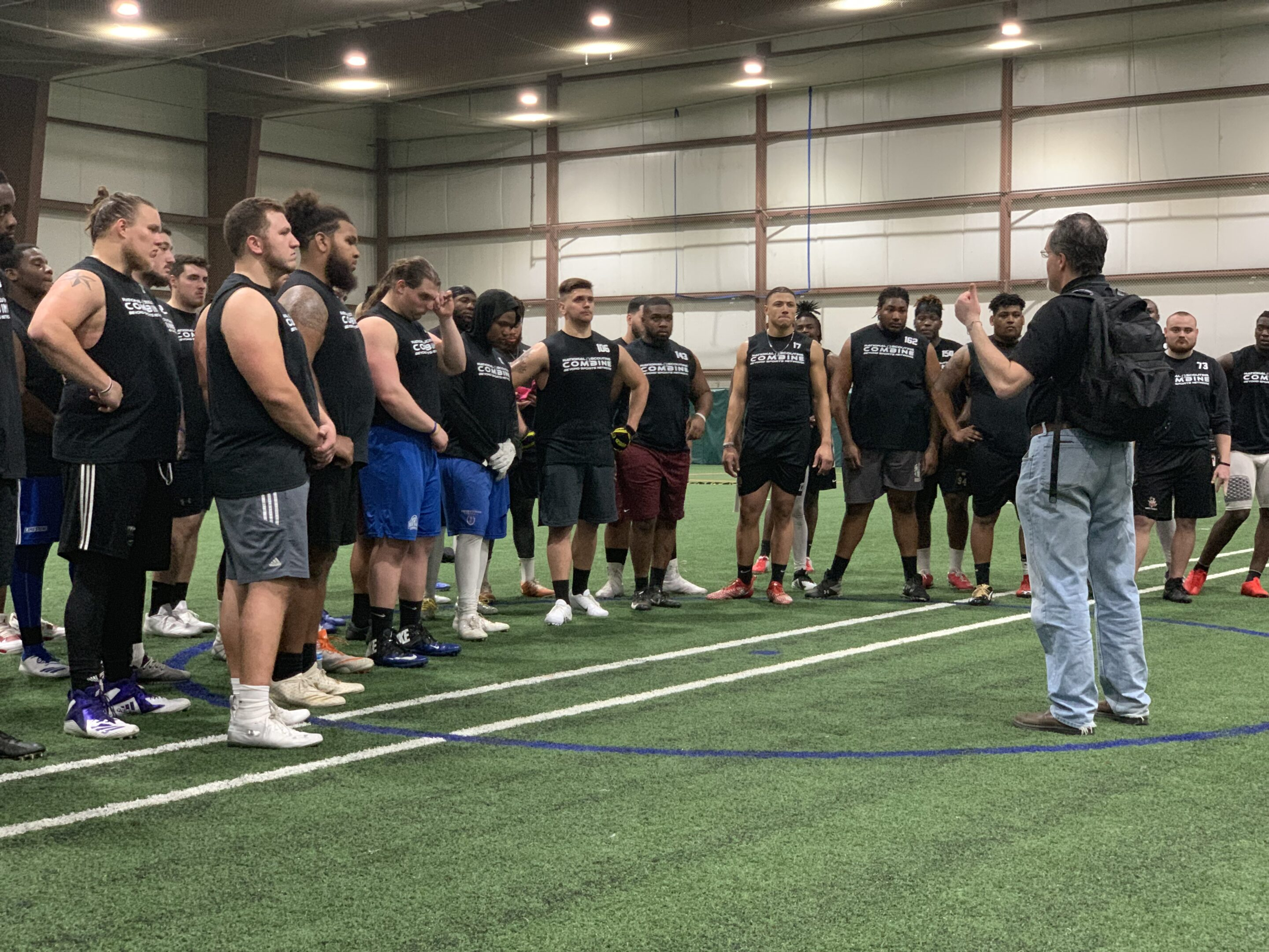 2019 National Scouting Combine DB Position Drills
