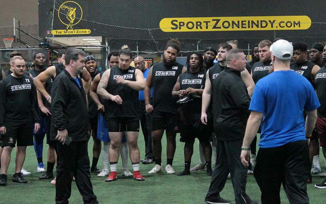 2019 National Scouting Combine Linebacker Position Drills