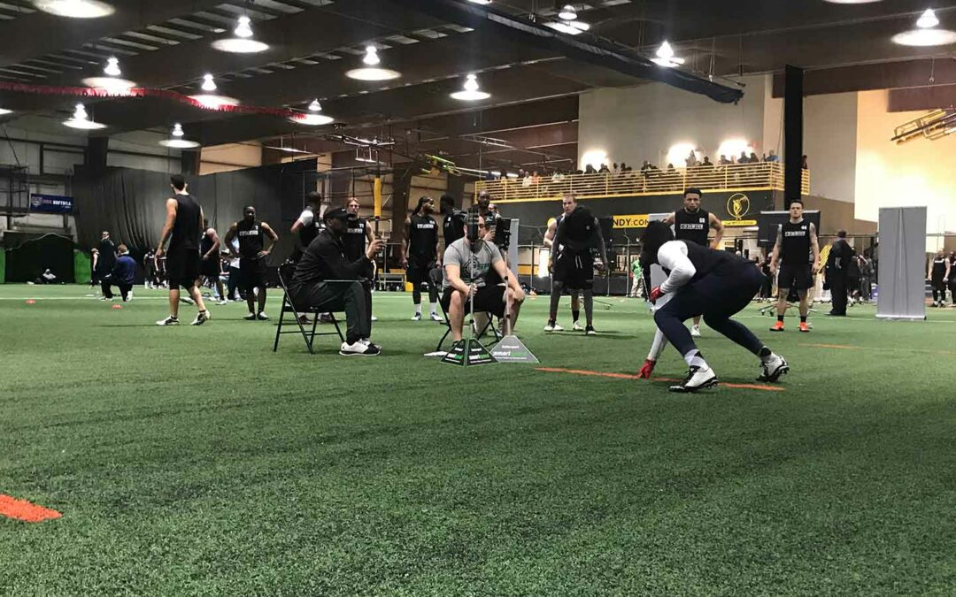2019 National Scouting Combine QB/WR/RB/TE Pro Agility